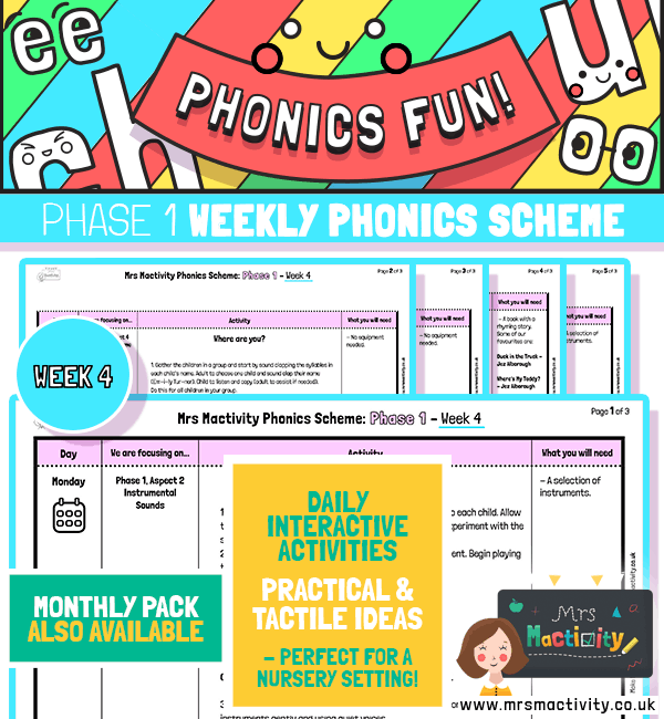 Phonics Scheme - Phase 1 Week 4