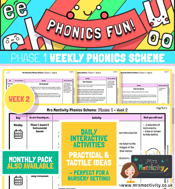 Phonics Scheme - Phase 1 Week 2
