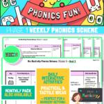 Phonics Scheme - Phase 1 Week 3