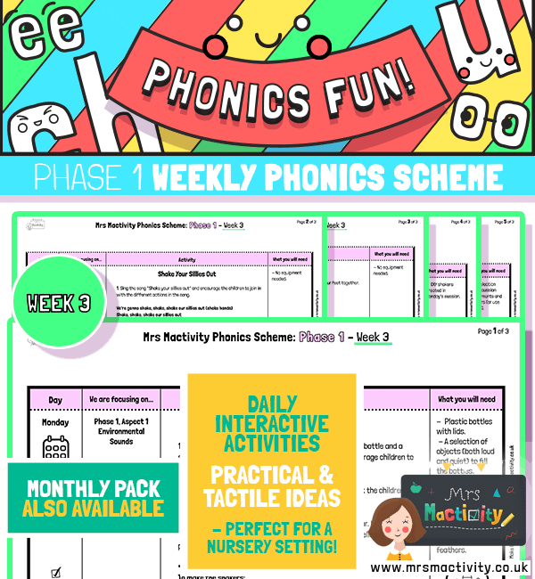 Phonics Scheme - Phase 1 Week 3