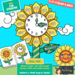website preview display pack Time flower small book sized