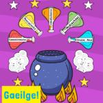 Gaeilge potion display idea