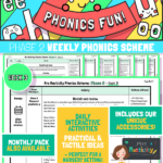 website preview Phonics Scheme Phase 2 Week 3