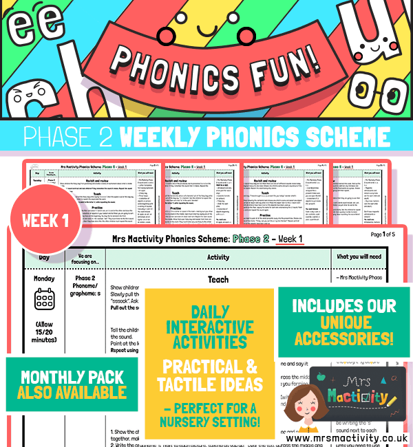 Phonics Scheme Phase 2 Week 1