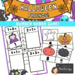 Halloween Number bonds within 10 game