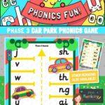 Phase 3 phonics car park game