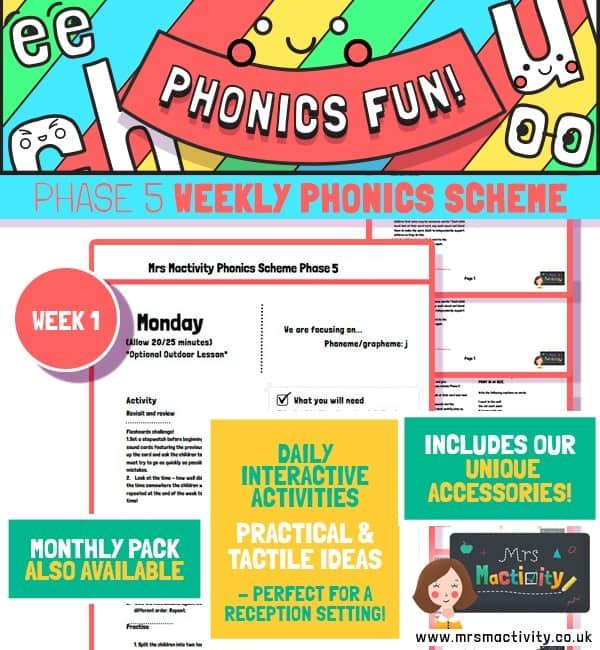 Phonics Scheme Phase 5 Week 1