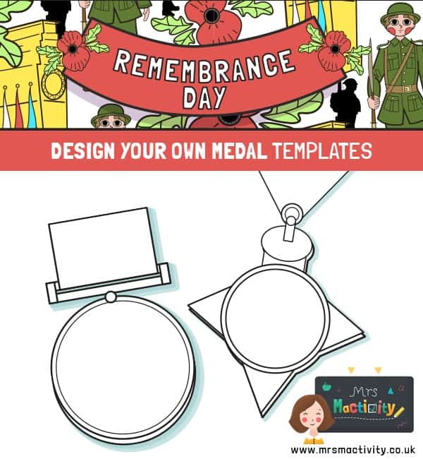 Remembrance Day Medal Template