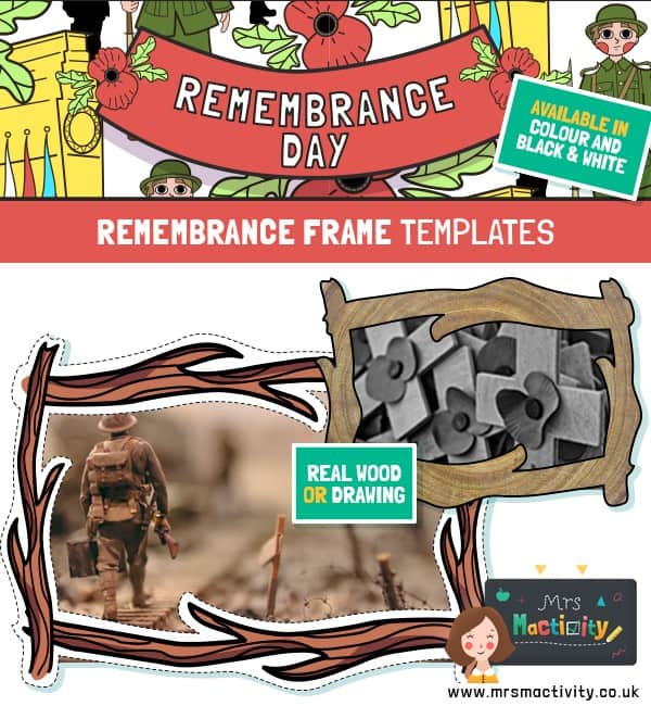 Remembrance Day Special Person Memory Frame