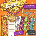 Diwali Rangoli Bookmark Templates