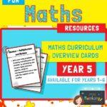 Year 5 Maths Curriculum Overview