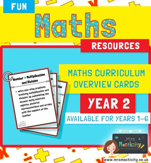 Year 2 Maths Curriculum Overview