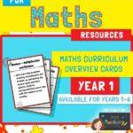 year 1 maths curriculum overview