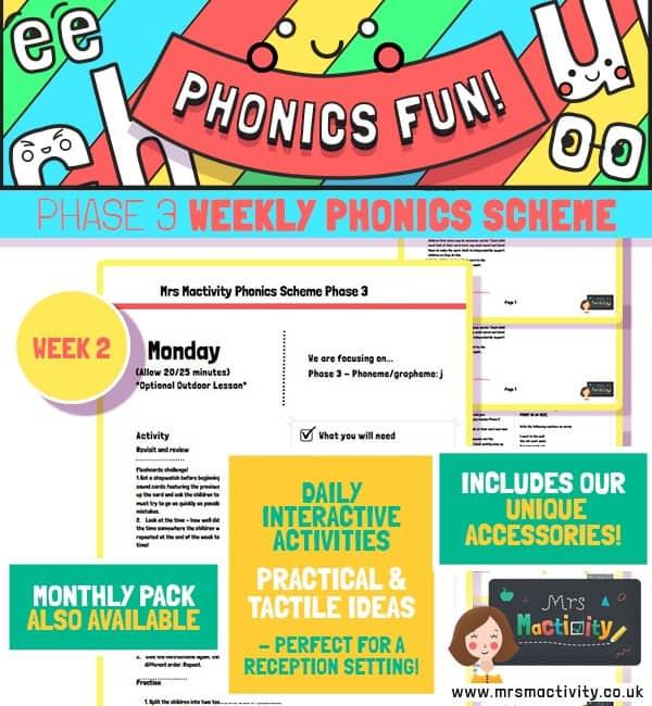 Phonics Scheme Phase 3 Week 2