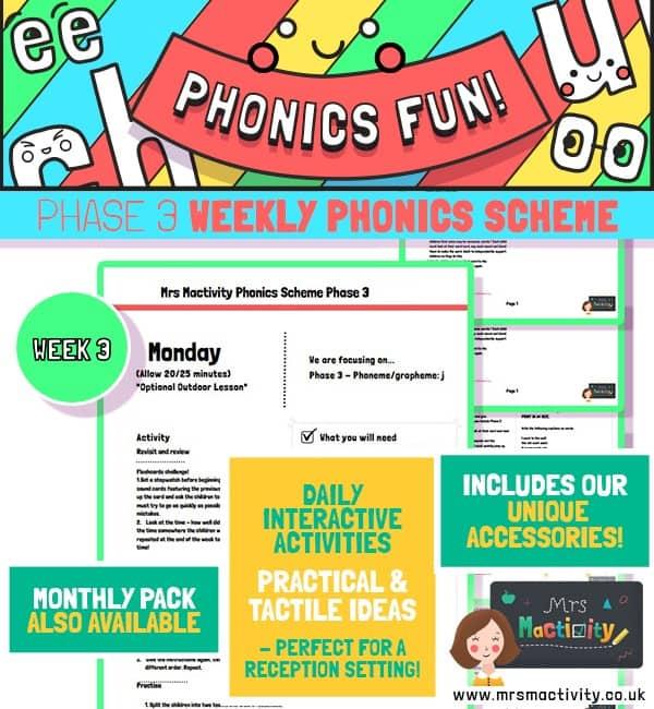 Phonics Scheme Phase 3 Week 3
