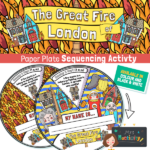 Great Fire of London Paper Plate Activity