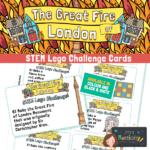 Great Fire of London Lego Stem Challenge