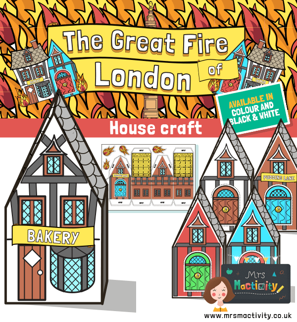 Great Fire of London Display Houses