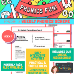 website preview Phonics Scheme Phase 3 Week 1