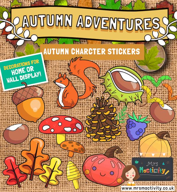 Autumn Display Characters
