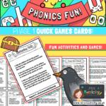 Phase 1 phonics games