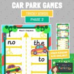 Phase 2 tricky words car park