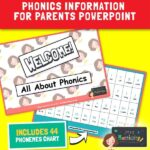 Phonics Presentation to Parents