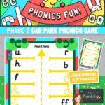 Phonics Phase 2 Car Park Phonics Game 2