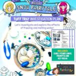 Royal Snow Fairytale Ice Investigation Tuff Tray Plan
