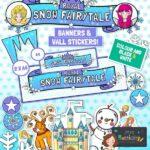 Royal Snow Fairytale Display Pack.