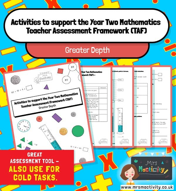year 2 maths TAF booklet