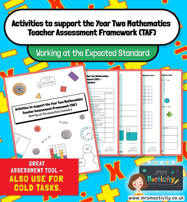 year 2 maths TAF activity booklet