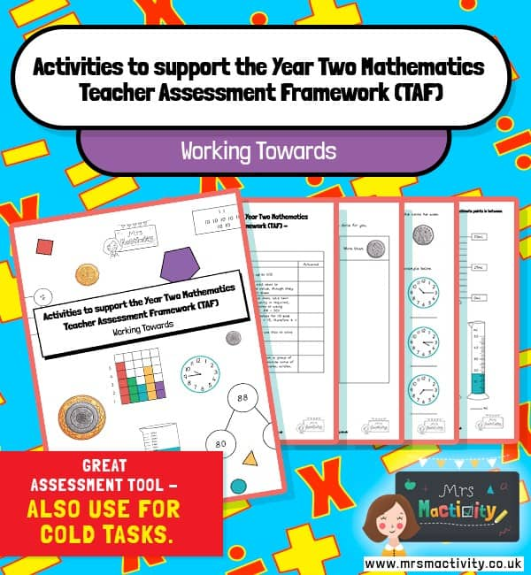 Year 2 maths TAF activity book