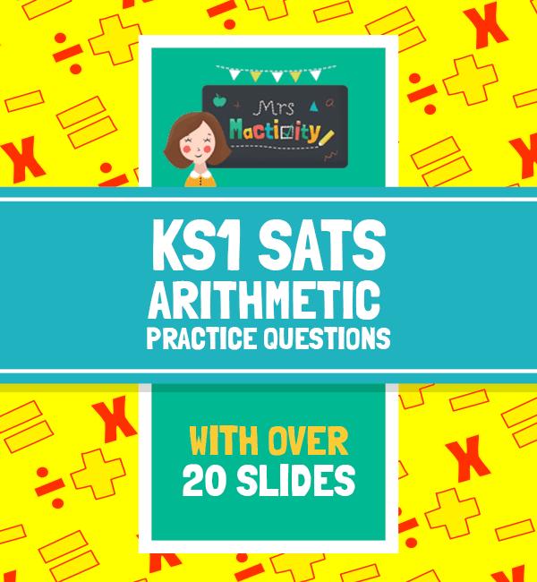 KS1 SATs Arithmetic Practice Question Powerpoint