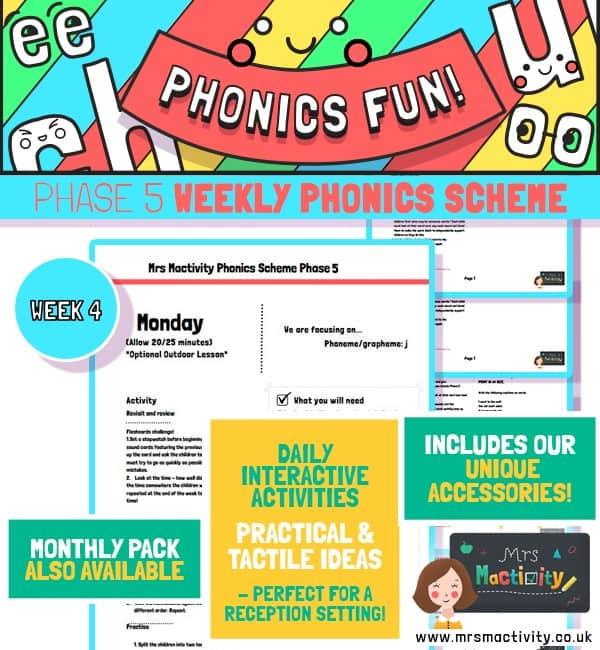 Phonics Scheme Phase 5 Week 4