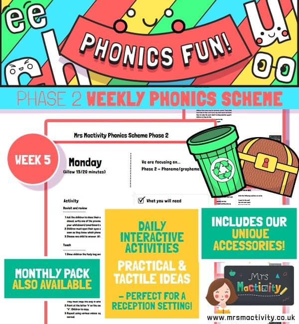 Phonics Scheme Phase 2 Week 5