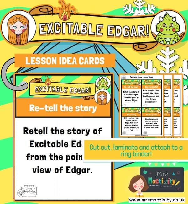 Excitable Edgar Lesson Ideas
