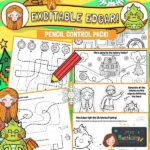 Excitable Edgar Pencil Control Activity