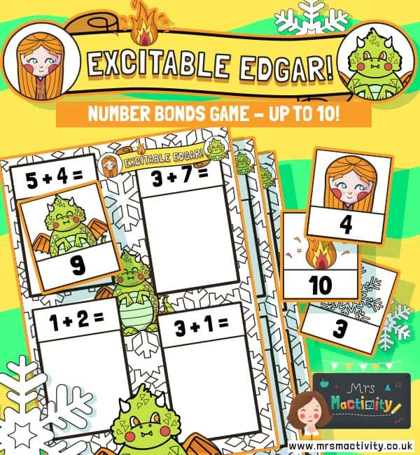 Excitable Edgar Numbers Bonds Within 10 Activity