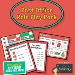 eyfs post office role play resources