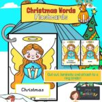 Christmas Words on Angels