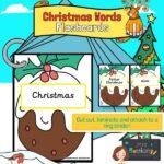Christmas Words on Christmas Puddings
