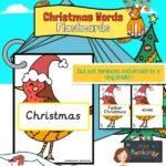 Christmas Words on Robins