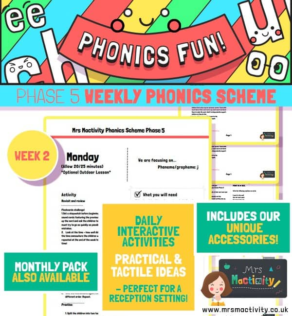 Phase 5 phonics scheme week 2