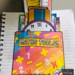 Maths pouches for books