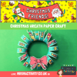 Christmas Wreath Paper Craft