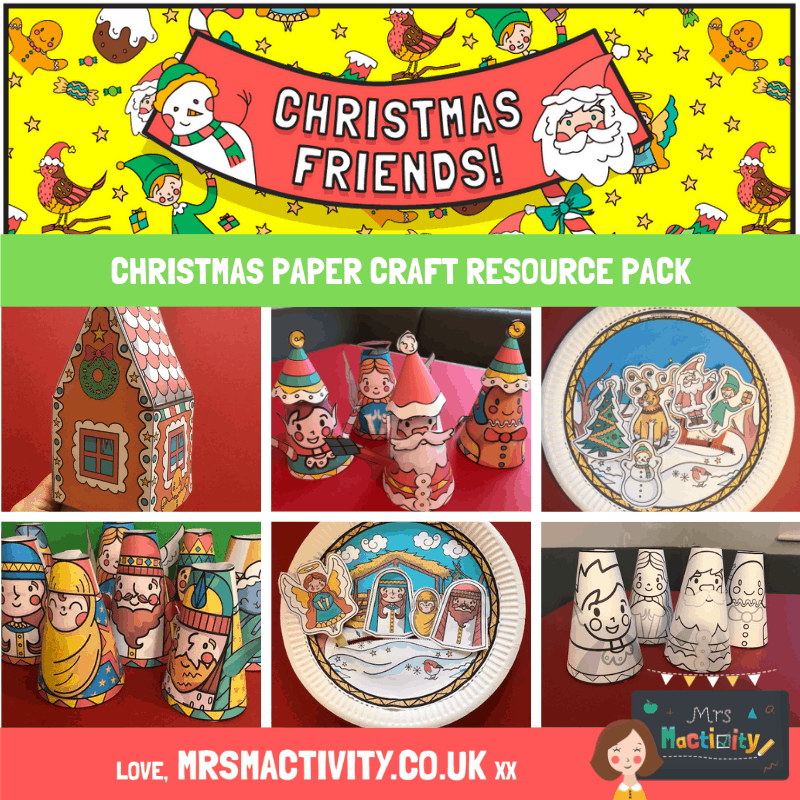 Christmas Paper Craft Resource Pack