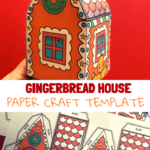 Gingebread house model paper craft