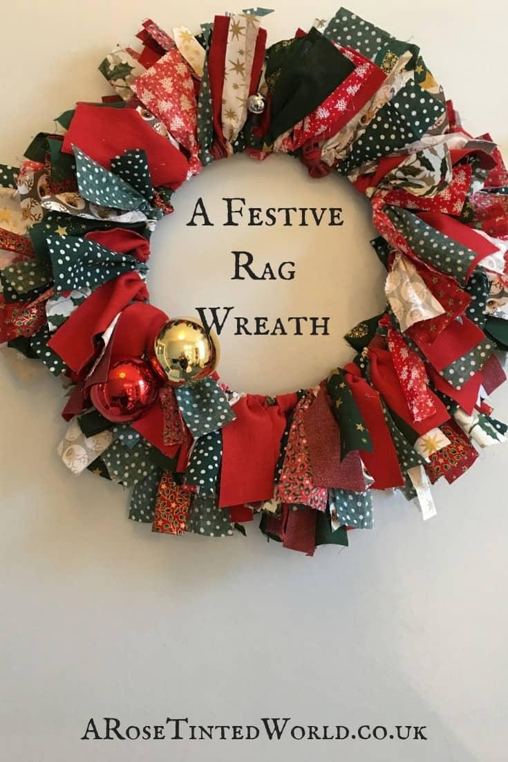 Festive Rag Wreath