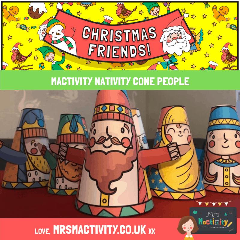 nativity cone people